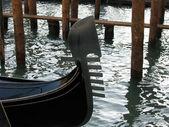 Gondola Prows — Stock Photo