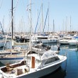 Boats in marina I — Stock Photo