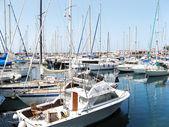 Boats in marina I — Stock Photo