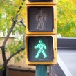 Pedestrian traffic lights green I — Foto de Stock