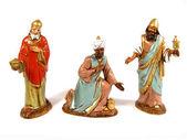 Drie wijze mannen (kerststal) Iii — Stockfoto