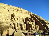 храм рамзеса ii — Стоковое фото