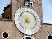 San Giacomo di Rialto's Clock — Stock Photo