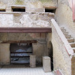 Ancient roman house — Stock Photo