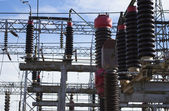 Electrical substation detail — Stock Photo