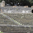Grandstand of roman theatre — Stock Photo