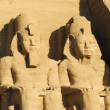 Stock Photo: Abu Simbel heads, Egypt, Africa