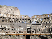 Coloseum inside Rome Italy — Stock Photo