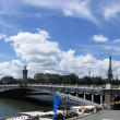 Pont Alexandre III in  Paris France — Stock Photo