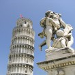 Leaning Tower of Pisa in Italy — Stock Photo