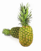 Isolated two pineapple — Stock Photo