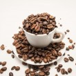 Cup of coffee beans — Stockfoto #34742171