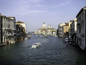 Water street in Venice — Stockfoto