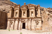 The Monastery in  Petra — Stock Photo