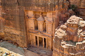 Al Khazneh or The Treasury at Petra — Stock Photo