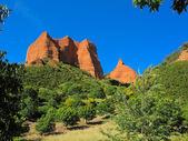 Las Medulas  ancient Roman mines  Leon  Spain — Stock Photo