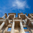 Celsus Library in Ephesus, Turkey - Stock Photo