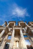 Celsus Library in Ephesus, Turkey — Stock Photo