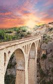 Varda railway bridge — Stock Photo