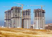 Concrete Construction site — Stock Photo