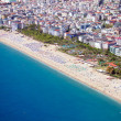Stock Photo: View of Cleopatrbeach in Alanya