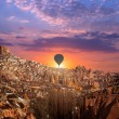 Hot air Balloon at Cappadocia — Stock Photo