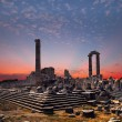 Stock Photo: Temple of Apollo in Didymantique city at sunrise