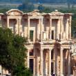 Celsus Library in Ephesus, Turkey — Stock Photo