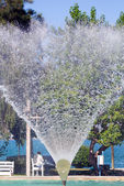 Fountain in park — Stock Photo