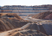 Pit open mine — Stock Photo