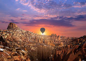 Hot air Balloon at Cappadocia — Stock Photo