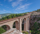 Varda railway bridge — Stock Photo