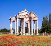 Famous Tetrapylon Gate in Aphrodisias — Stock Photo