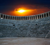 Aspendos amphitheater (Antalya Turkey) — Stock Photo