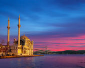 Ortakoy Mosque , istanbul Turkey — Stock Photo