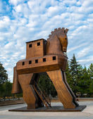 Trojan Horse located in Troy, Turkey — Stock Photo