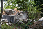 Rock tombs in Termessos near Antalya, Turkey — Stock Photo