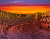 Aspendos amphitheater (Antalya Turkey — 图库照片
