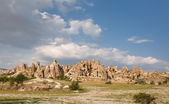View of small towns in Cappadocia — Stock Photo