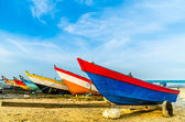 Boats at the Beach — 图库照片