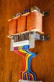 Elektrisk kraftkälla — Stockfoto