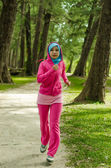 Sports Muslimah Woman — Stock Photo