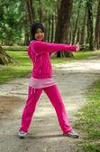 Sports Muslimah Woman — Stock Photo