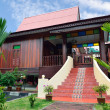 Stock Photo: Malay Traditional House