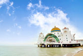Selat Malacca Mosque — Stock Photo