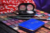 Make-up Equipment and Brush — Stock Photo