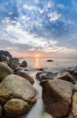 Sun Rising near the beach — Stock Photo