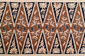 Pattern and Batik Textile — Stock Photo