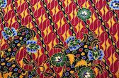 Pattern and Batik Textile — Stock Photo