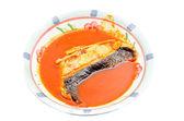 Malay Dishes, Ikan Patin Tempoyak — Stock Photo